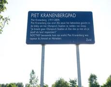 Een fietspad voor Piet Graniet